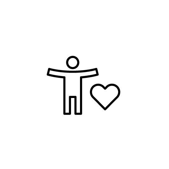 Live platform promote employee wellness icon