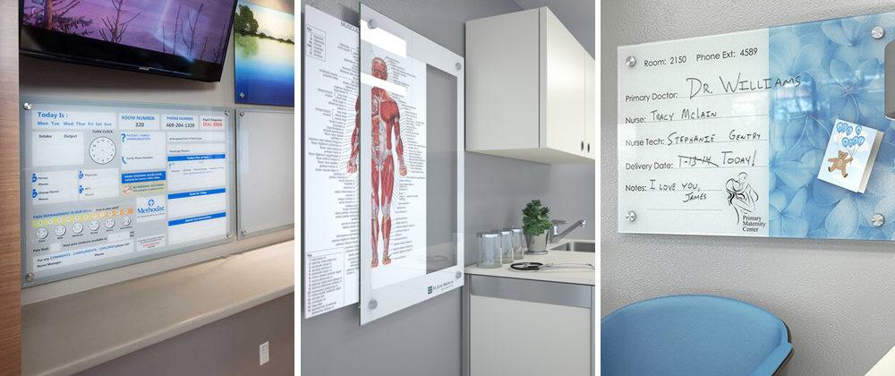Clarus Hospital Glassboards Whiteboard 2