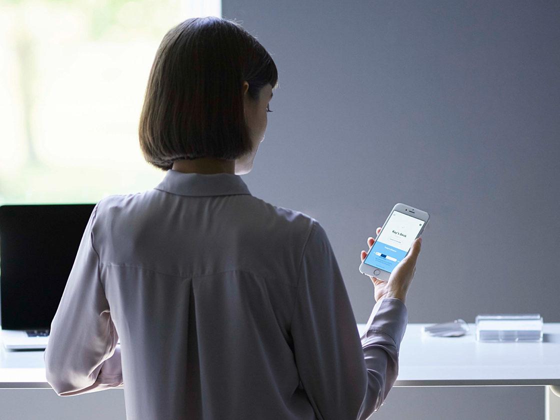 Herman Miller Live OS smart furniture technology