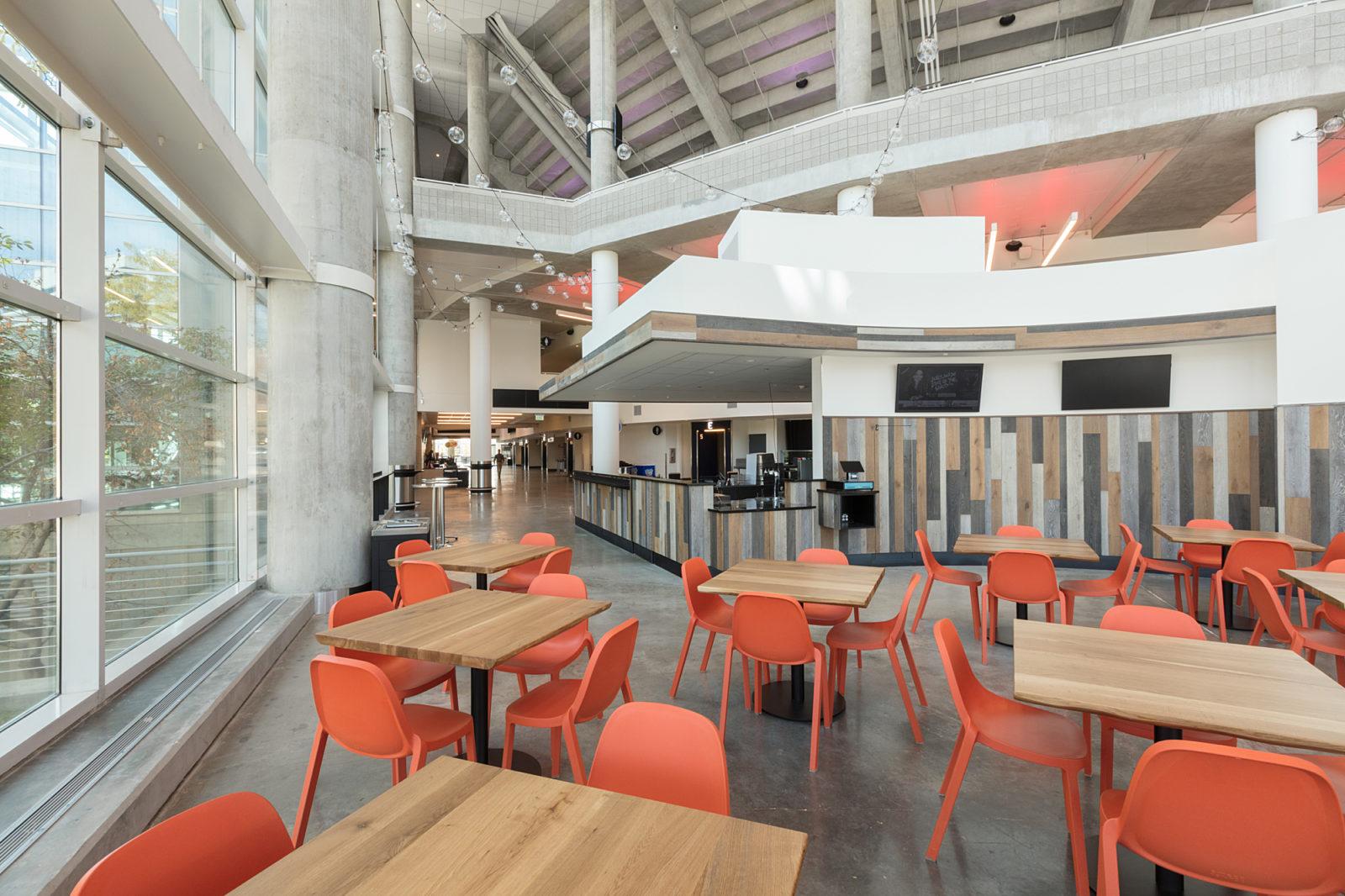 Vivint Arena Concourse Dining