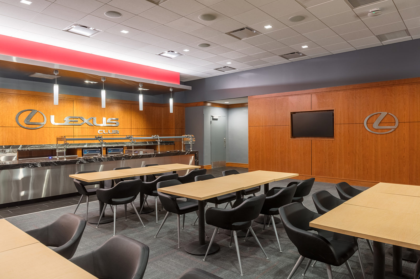 Vivint Arena Dining Room