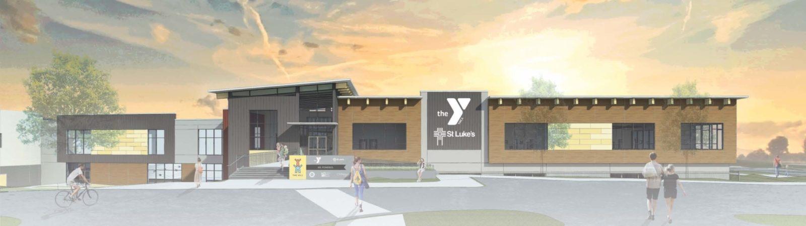 Ymca Building Renderings